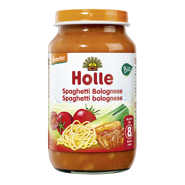 Spaghetti Bolognese Holle Baby Food